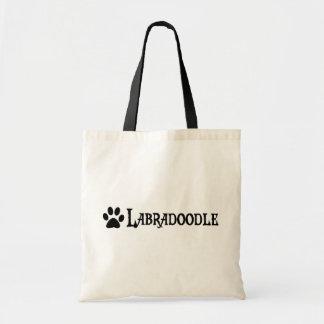 Labradoodle (pawprintとの海賊スタイル) トートバッグ