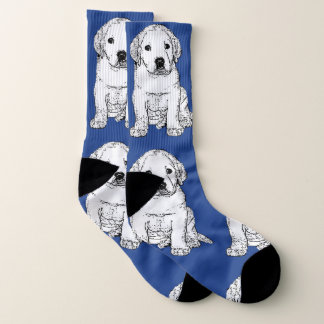 Labrador Retriever puppy  dog socks ソックス