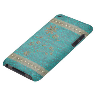 Lace女性及び真珠のヴィンテージのプリントipod touch Case-Mate iPod touch ケース