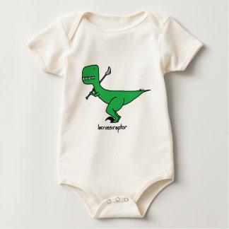 lacrossiraptor ベビーボディスーツ