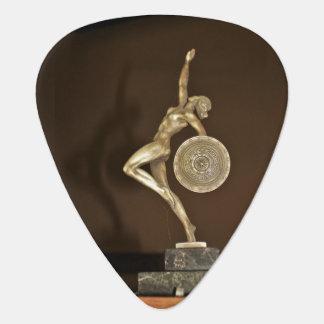 ladhy彫像 ギターピック