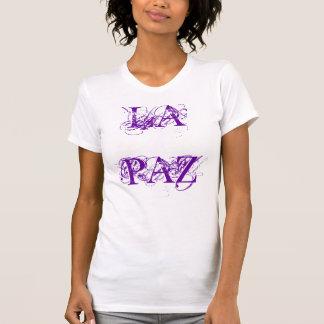 LADIEのデザイナータンクトップ-ラパス-平和Tシャツ Tシャツ