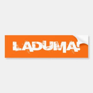 Laduma!|ゴール!|壁|/|ラップトップ|車|バンパー|ステッカー! バンパーステッカー