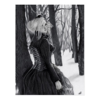 Lady of Winter Postcards ポストカード