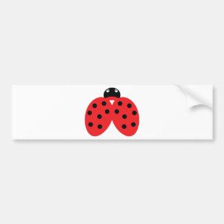 ladybeetleアイコン バンパーステッカー