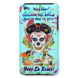 Lafitte海賊女王すべてのスタイルの眺めのヒント Case-Mate iPod Touch ケース