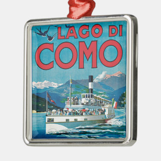Lago di Como メタルオーナメント