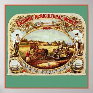 Lagondaの農業 ポスター