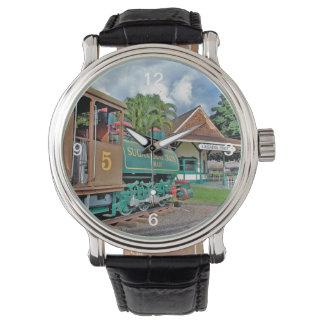 Lahainaの鉄道 腕時計