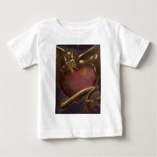Laidlyみみず ベビーTシャツ