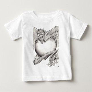 LaidlyみみずBW ベビーTシャツ