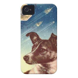 Laikaロシアのな宇宙犬のiphone 4 Case-Mate iPhone 4 ケース