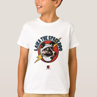 Laika宇宙犬: 子供のTシャツ Tシャツ