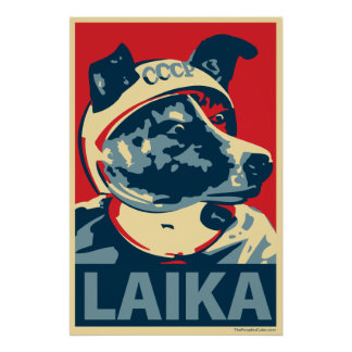 Laika宇宙犬- Laika: OHPポスター ポスター