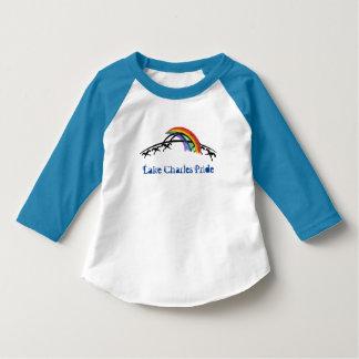 Lake Charlesのプライドの子供のTシャツ(虹) Tシャツ
