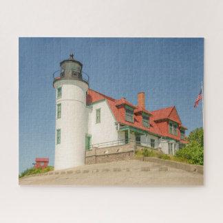 Lake Michigan's Point Betsie Lighthouse ジグソーパズル