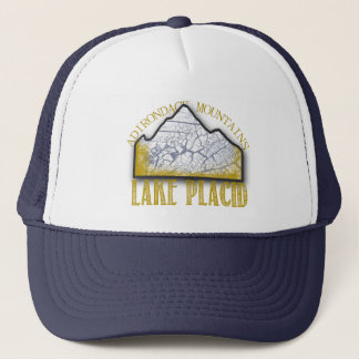 Lake Placidの帽子のWhiteface山のAdirondacks キャップ