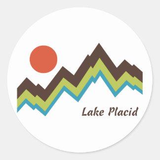 Lake Placid ラウンドシール