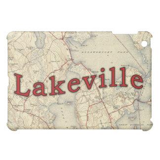 Lakevilleマサチューセッツの古い地図 iPad Mini カバー