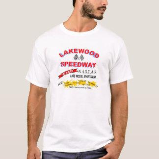 Lakewoodの高速自動車道路のレトロのRacedayの記念品1967年 Tシャツ