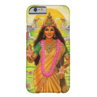 Lakshmiのヒンズー教の女神のiPhone6ケース Barely There iPhone 6 ケース