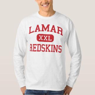 Lamar -アメリカインディアン-高等学校-ヒューストンテキサス州 tシャツ