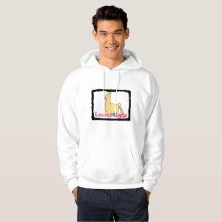 Lamaz4Lyfeのラマのトウモロコシのフード付きスウェットシャツ パーカ