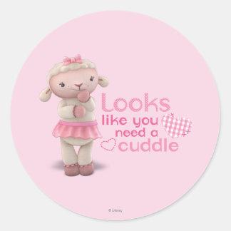 Lambie -あなたのように見えは抱擁を必要とします ラウンドシール