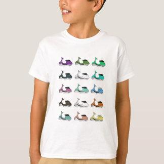 Lambrettaのポップアート Tシャツ