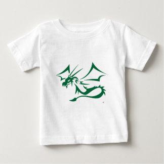 Lambton緑ドラゴン ベビーTシャツ