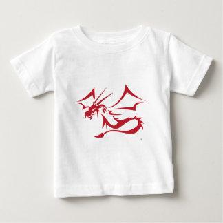 Lambton赤いドラゴン ベビーTシャツ