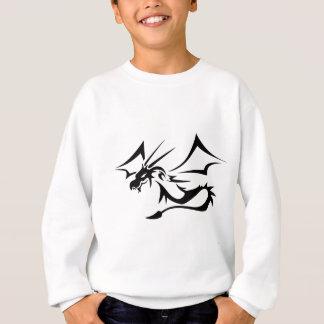 Lambton黒いドラゴン スウェットシャツ