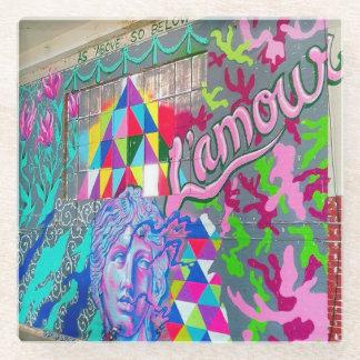 L'amourのコースター ガラスコースター