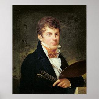 LancelotセオドアTurpin de Crisseのポートレート ポスター