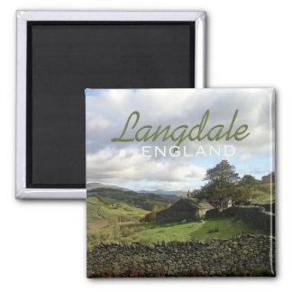 Langdaleイギリス旅行記念品の磁石 マグネット