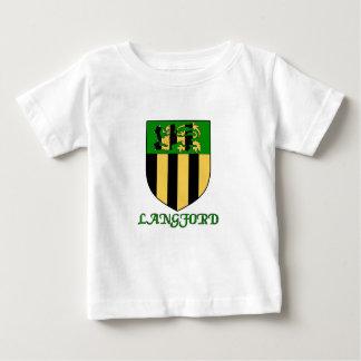 Langford家族の盾 ベビーTシャツ