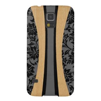 Laniakeaのハワイの模造のな木製のサーフボード Galaxy S5 ケース