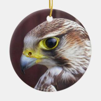 Lannerの《鳥》ハヤブサ セラミックオーナメント