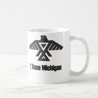 L'Anseミシガン州Ojibweのネイティブアメリカンのマグ コーヒーマグカップ