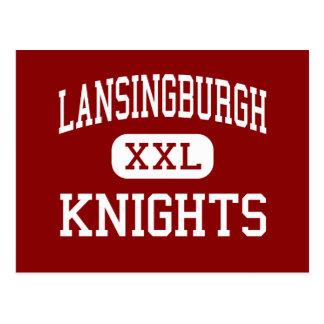 Lansingburgh -騎士-高イリオスニューヨーク ポストカード