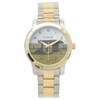 LanyonのQuoitの永続的な石コーンウォールイギリス 腕時計