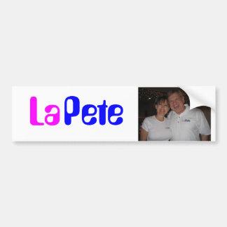 LaPeteのバンパーステッカー バンパーステッカー