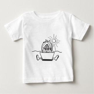 laptop.tif ベビーTシャツ