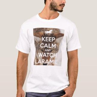 Laramie穏やか、腕時計保って下さい Tシャツ