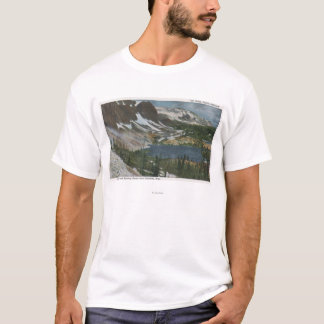 Laramie、WY -湖MarieおよびUnioのSnowyの範囲 Tシャツ