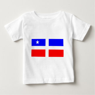 Laresの革命的な旗(プエルトリコ) ベビーTシャツ