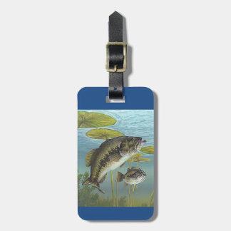 Largemouth Bass バッグタグ
