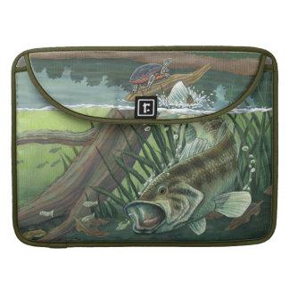 Largemouth Bass Fishing MacBook Proスリーブ