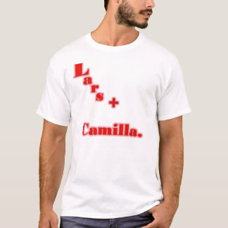 lars+カミラ tシャツ