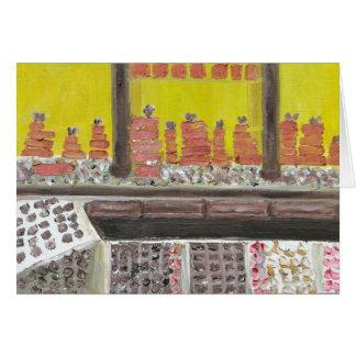 L'ART DU CHOCOLAT NOTECARD カード